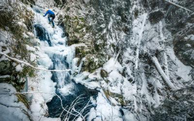 Zvláštny odkaz zamrznutej rieky